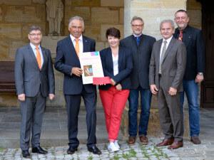 Die Frühförderung bedankte sich mit einen sehenswerten Urkunde welche in der Geschäftsstelle in Altdorf zu betrachten ist